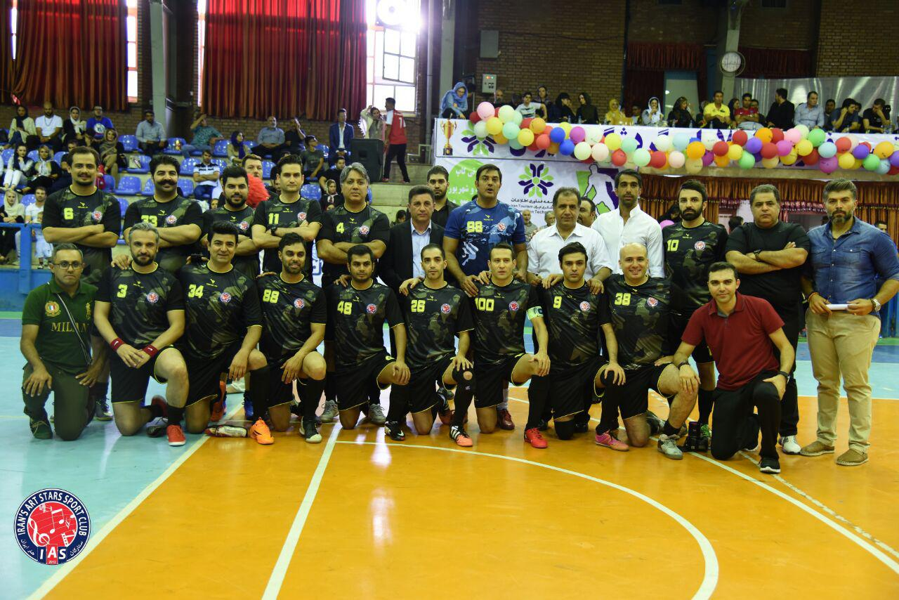 Iranartstars-Footbal-Team