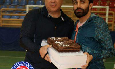 جشن تولد هومن جوادی و علی لهراسبی