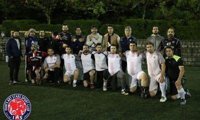 تمرین سوم اردیبهشت تیم فوتبال ستارگان هنر ایران