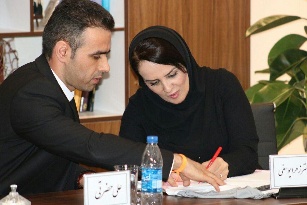 زهرا یوسفی مدیرعامل بنیاد نیکوکاری دست های مهربان