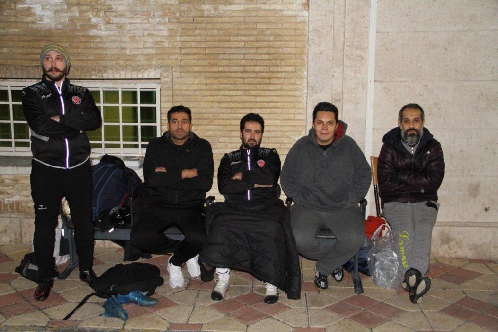 ستارگان هنر ایران مقابل شهرداری کرج