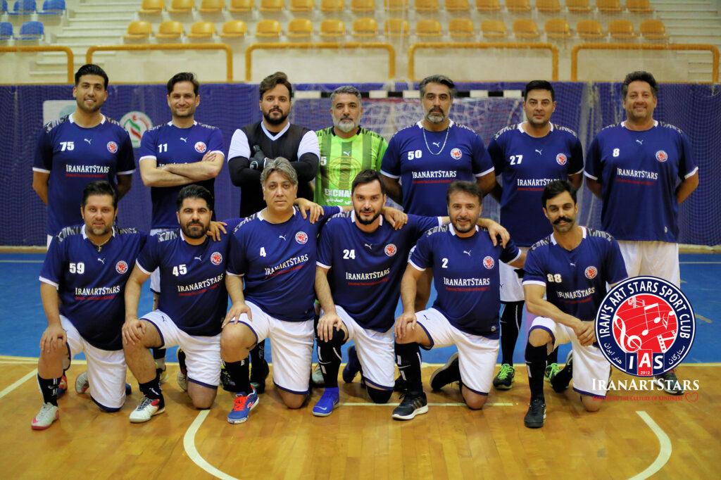 تیم فوتبال ستارگان هنر ایران در کیش
