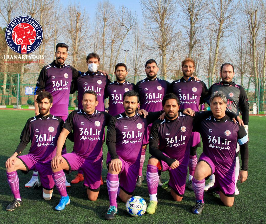بد قاطع ستارگان مقابل کانون وکلا - تیم فوتبال ستارگان هنر ایران